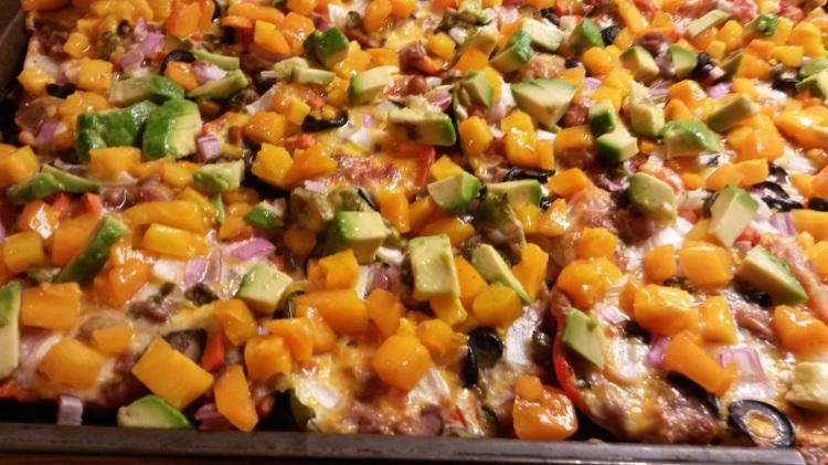 Grainfree nachos finished